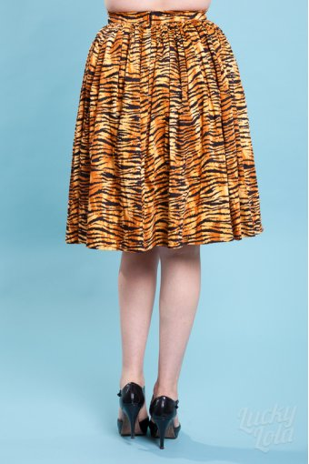 Skirt Darling Dames Tiger Print