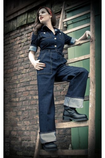 Jeans Overall Rumble 59