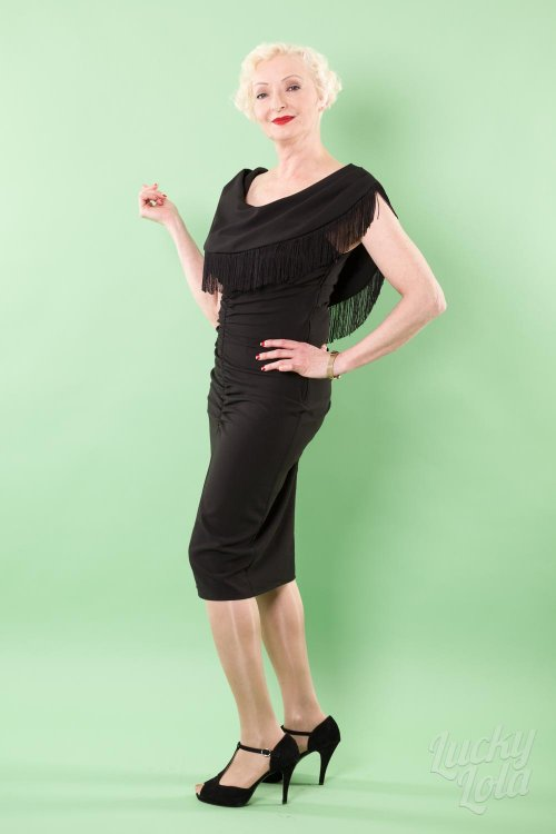 Bettie Page Wild One Wiggle Nightcrawler Kleid
