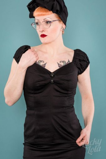 Delores Top black