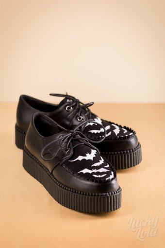 Banned Bat Ruffles Creepers