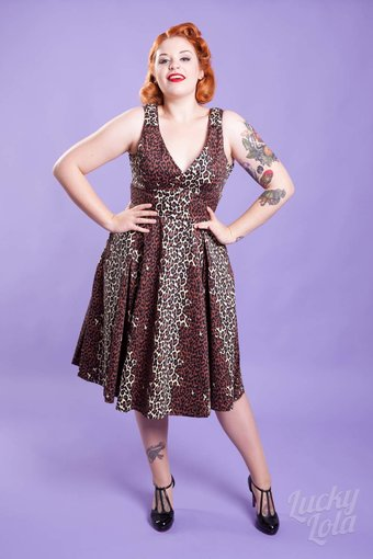 Pinup Couture Couture for everybody Leota Leo Kleid