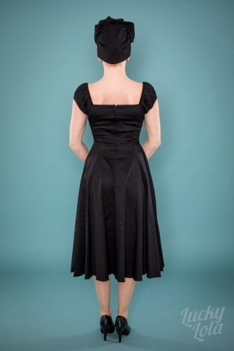 Delores Doll Dress Black
