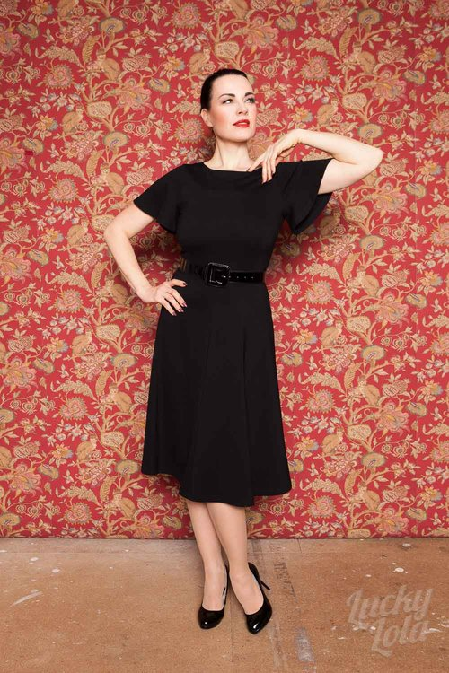 Lucky Lola Merida Flatter Swing Kleid