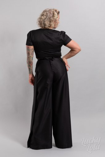 Lucky Lola Wickelhose Retro Medusa Black