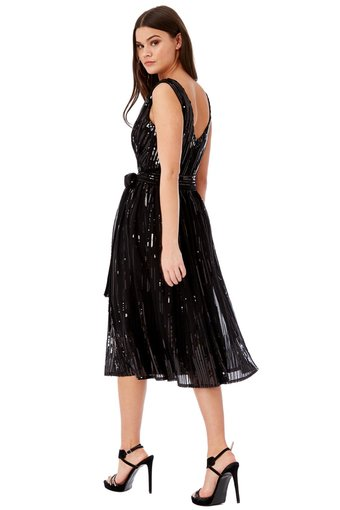 Goddess Sequin Prom Party Kleid L