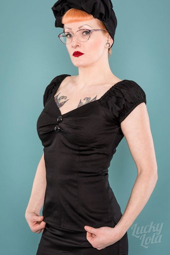 Delores Top black M