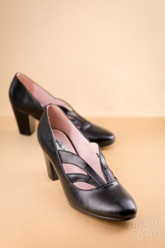 Lulu Hun by Collectif Layla Black Pumps