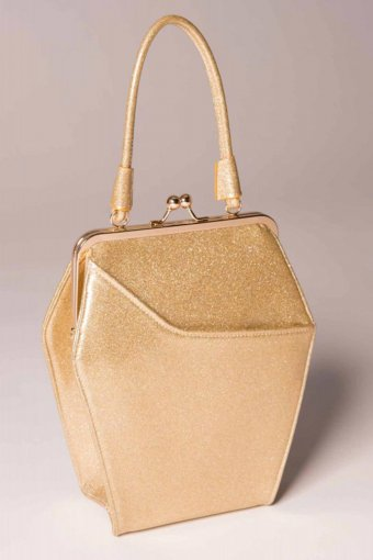 Tatyana To die for Tasche Glittery Gold