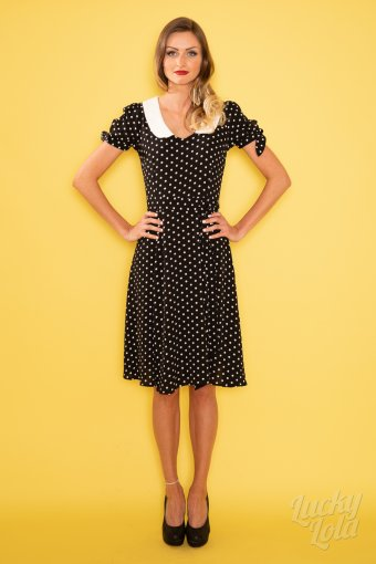 Collectif Mirella Dots Vintage Swing Kleid