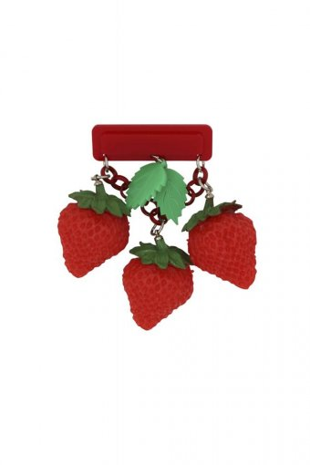 Collectif Brosche Vintage Strawberry