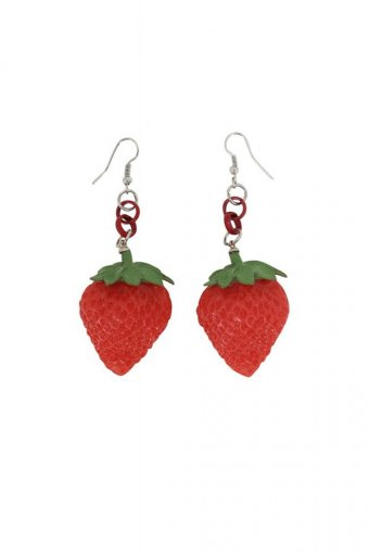 Collectif Strawberry Ohrringe