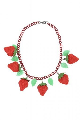 Collectif Kette Strawberry